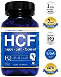 HCF Happy Calm Focused Brain Supplement - Amino Acids, Vitamins and Minerals for Memory, Attention, Focus, Mood, Concentration, Sleep, Energy, Confidence and Hormone Balance