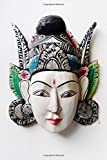 img - for Balinese Handicraft Mask Journal: 150 page lined notebook/diary book / textbook / text book