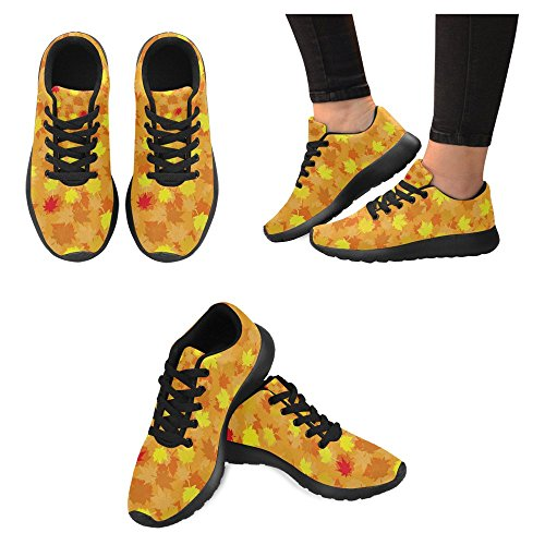 Interessante Womens Jogging Running Sneaker Leggero Go Easy Walking Casual Comfort Sport Scarpe Da Corsa Autunno Seamless Con Acero Lasciare Multi 1