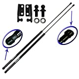 Two Rear Hatch Hatchback Liftgate Trunk Gas Charged Lift Supports For 1995-1998 Eagle Talon Hatchback, 1995-1999 Mitsubishi Eclipse Hatchback. Left and Right Side. WGS-241-242