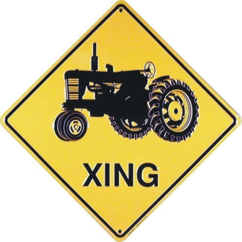 - Tractor XING Sign (Crossing Sign)