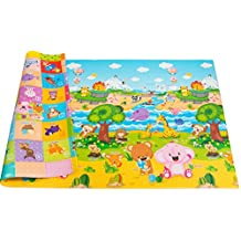 Baby Care Medium Size Double sided soft Playmat / Baby Play Mat - Pingko Friends