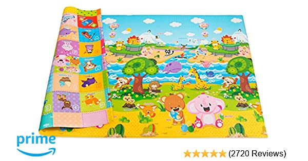 Amazon Com Baby Care Play Mat Large Pingko Friends Early