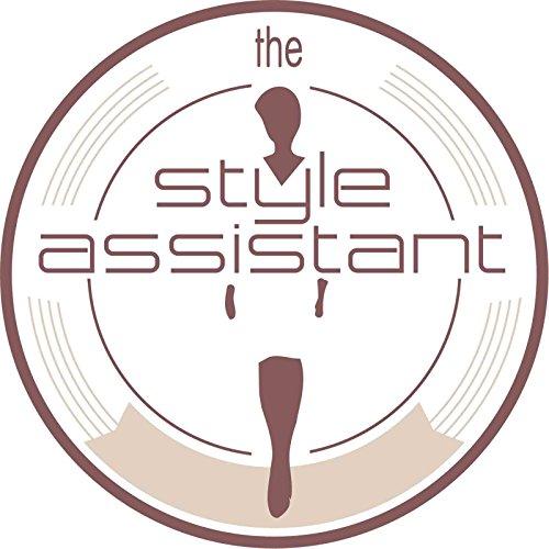 TheStyleAssistant - Cartera de mano con asa de piel sintética para mujer gris gris