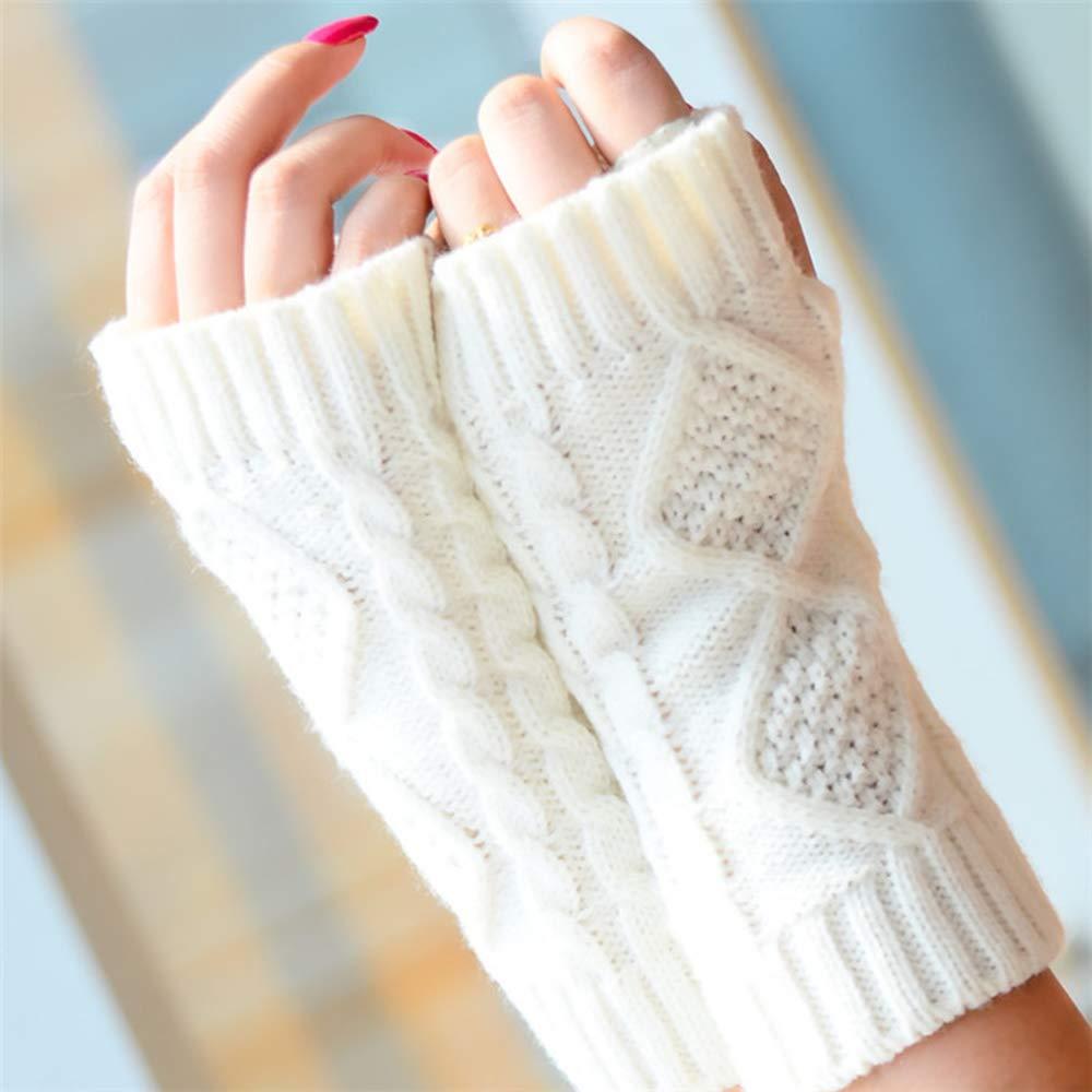 Guantes de brazo para mujer - Guantes de muñeca Guantes sin dedos ...