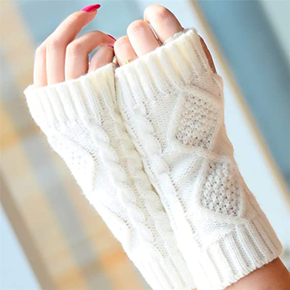 WMFL Guantes de brazo para mujer - Guantes de muñeca Guantes sin ...