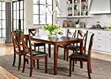 Liberty Furniture Industries 164-CD-7RLS Russet Finish Thornton Dining 7-Piece Rectangular Table Set Review
