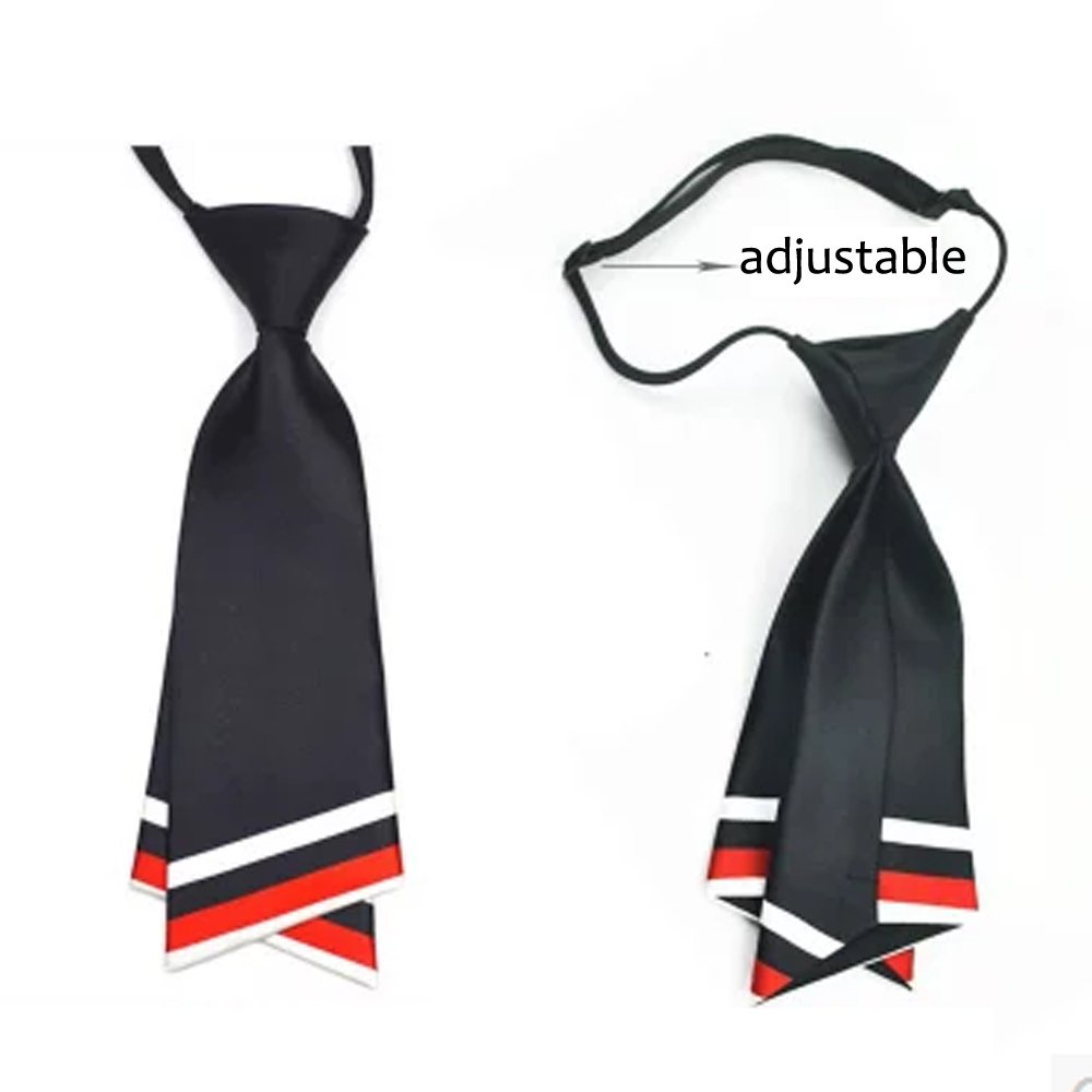 HANERDUN Womens Bowtie Ladies Pre Tied Silk Necktie Costume Accessory Gift Idea by HANERDUN (Image #2)