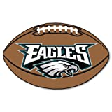 FANMATS NFL Philadelphia Eagles Nylon Face Football Rug