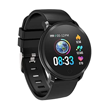 BingoFit Fitness Tracker, Smart Watch IP68 Waterproof Activity Tracker with Heart Rate Monitor, Sleep Monitors, Calorie, Pedometer, Blood Pressure ...