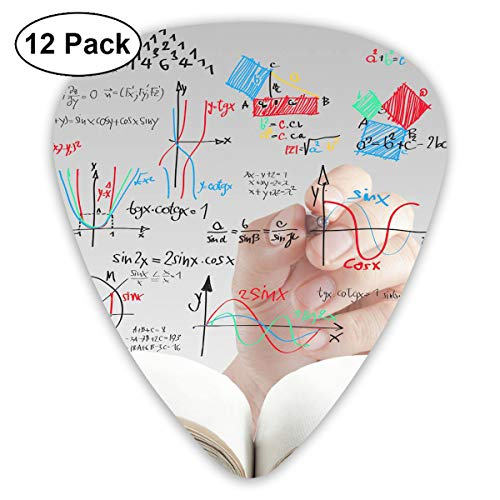 V5DGFJH.B Math Graphical Classic Guitar Pick Player's Pack for Electric Guitar,Acoustic Guitar,Mandolin,Guitar Bass]()