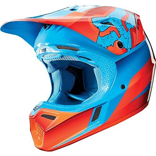 Fox-Racing-Flight-Mens-V3-Motocross-Motorcycle-Helmet-Red