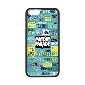 "Hjdiycase Customized Mayday Parade Case for iPhone6 Plus 5.5"", custom iPhone6 Plus 5.5"" Case Mayday Parade, Mayday Parade Plastic Case"