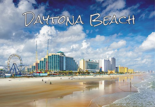 Daytona Beach, Boardwalk, Ferris Wheel, Florida, FL, Souvenir Magnet 2 x 3 Photo Fridge - Beach In Fl Daytona Stores