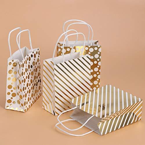 Stobok casuale Sacchetti il modello 12pcs per oro modello regalo placcato onda partito carta stelle OO5aq