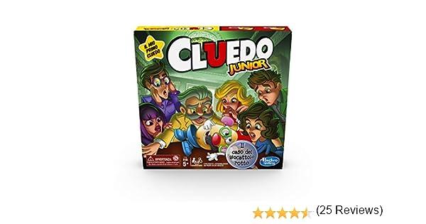 Hasbro Cluedo - Junior Merchandising Ufficiale: Amazon.es: Deportes y aire libre