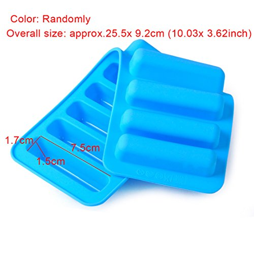 inder Ice Cube Best Tray Freeze Mould Fondant Stick Chocolate Cookie Mold ()