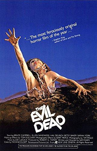 Evil Dead - Movie Poster (Size: 27'' x 40'')