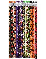 VICASKY 60PCS Halloween Pencils Favors Colorful Wood Pencil for Halloween Party Favors Goodies Bags Fillers
