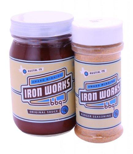 Iron Works BBQ Backyard BBQ Gift Set