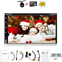 Navigation Seller-New Brand Upgarde Version 7 Inch Full Touch Screen 1024*600 Android 4.4.4 Double Din Car Stereo In Dash GPS Navigation With DVD Player