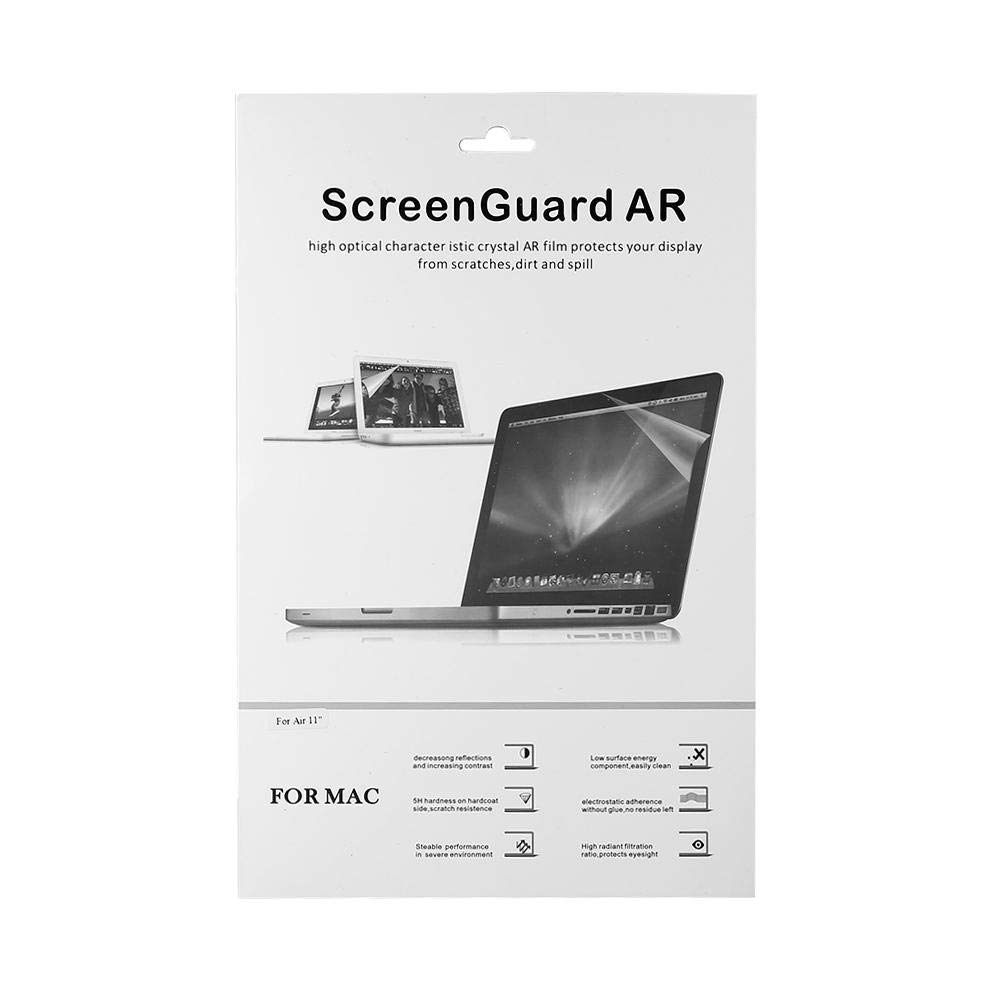 fosa Clear Screen Protector for MacBook, Ultra-Thin Crystal Clear Film Screen Guard Protector Laptop Cover(11.6 inch)