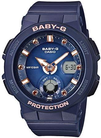 [カシオ] 腕時計 ベビージー BEACH TRAVELER BGA-250-2A2JF レディース ブルー