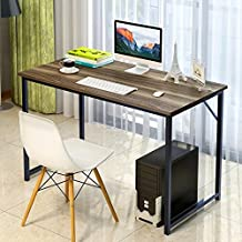 "Soges Computer Desk 47"" PC Desk Office Desk Workstation for Home Office Use Writing Table, Walnut JJ-WCA"