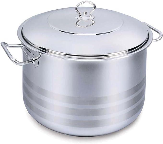 وعاء الطهي كروكماز مع غطاء فضي سعة 32 لتر – A1948