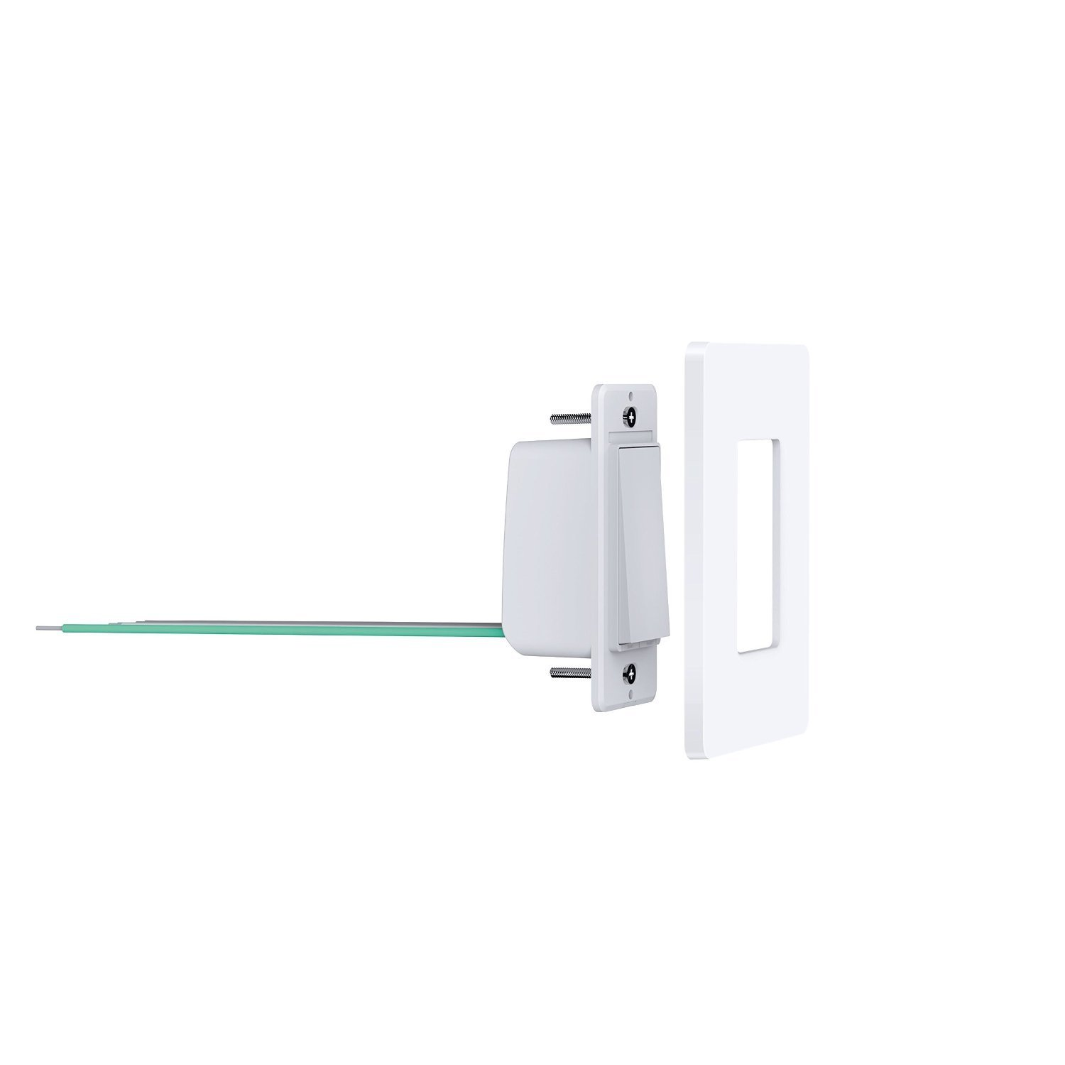 TP-Link Smart Wi-Fi Light Switch, No Hub Required, Single Pole, Control Your Fixtures From Anywhere (HS200), Works with Amazon Alexa Kit (2-Pack) by TP-Link (Image #3)