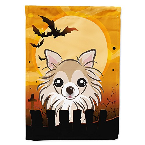 Caroline's Treasures BB1809CHF Halloween Chihuahua Canvas House Size Flag, Multicolor, Large