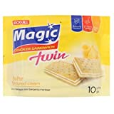 Jack 'n Jill Magic Twin Sandwich Cracker Sandwich (628MART) (Butter Cream Flavoured, 6 Packs)