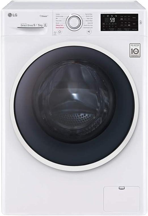 LAVADORA SECADORA LG F4J6VG0W 9KG/5KG 1400RPM A: 506.39: Amazon.es ...