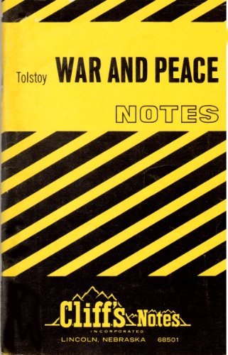 War and peace : notes