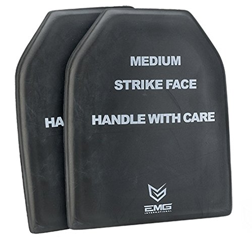 (EMG Tactical Dummy Training SAPI Plate Insert Size Medium (One Pair))