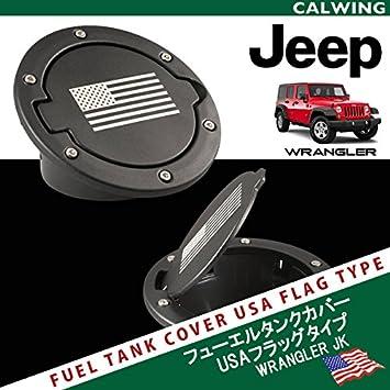 amazon jeep ラングラー jk 4ドア フューエルドア ブラック usa