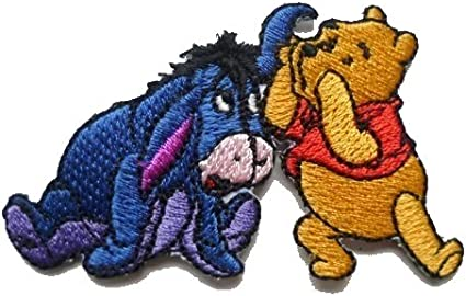 Eeyore from Winnie the Pooh Embroidered Patch