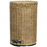 Lamont Home Rattan Step Can