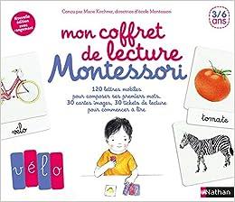 Mon Coffret De Lecture Montessori Contient 30 Cartes