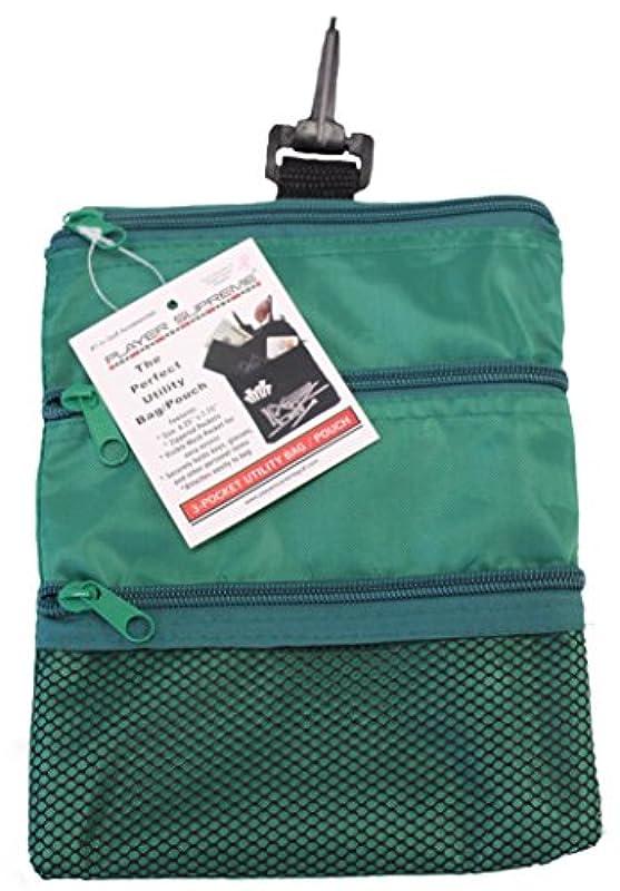 JP Lann Golf 멀티 포켓 토트 핸드백과 귀중품 만들어 넣음(담는 그릇·상자 등) 파우치