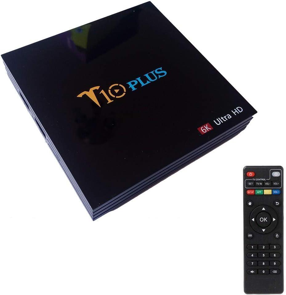 Trade Shop Smart TV Box T10 Plus Android 9 4GB RAM 64GB 4K TV GPU ...