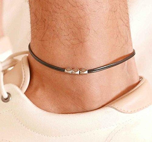Image result for black guy in men anklet