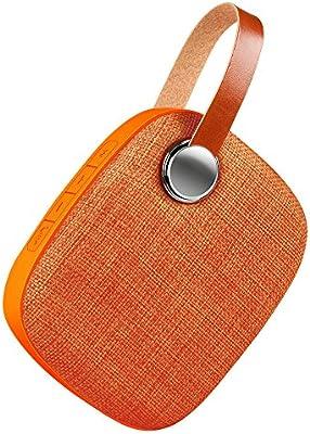 warmstor cloth-net inalámbrico portátil Bluetooth Altavoces con correa de muñeca y apoyo de altavoz doble Disco Flash USB, tarjeta Micro SD, AUX Entrada de audio para smartphones y todos los dispositivos de