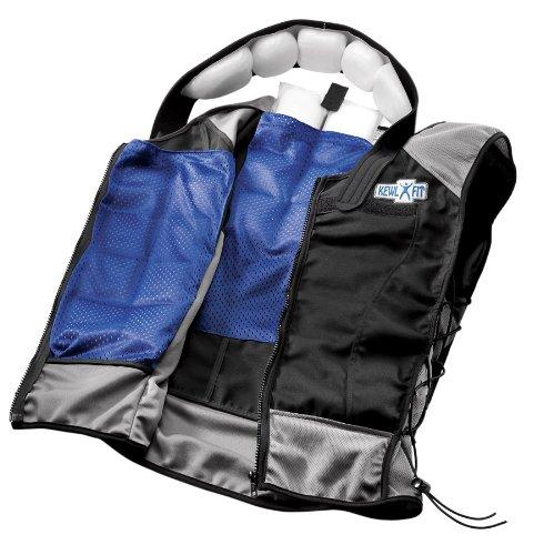 KewlFit Weight Management Vest, Black/Grey, 3X-Large/4X-Large