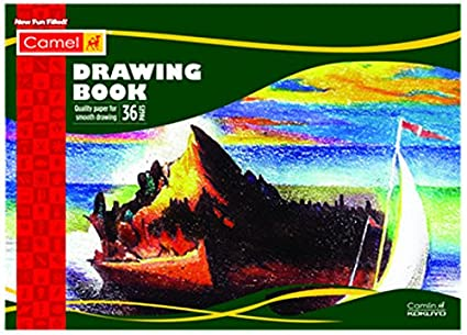 Camlin Kokuyo Drawing Book - 36 Pages 21x29 7cm: Amazon in: Office