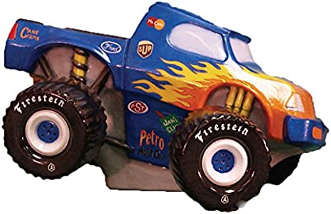 Monster Truck - Bicicleta de cerámica de 25,4 cm, lista para ...