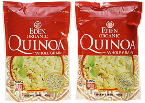 Eden Organic Quinoa, Whole Grain, 16-Ounce Pouches (Pack of 6) by Eden