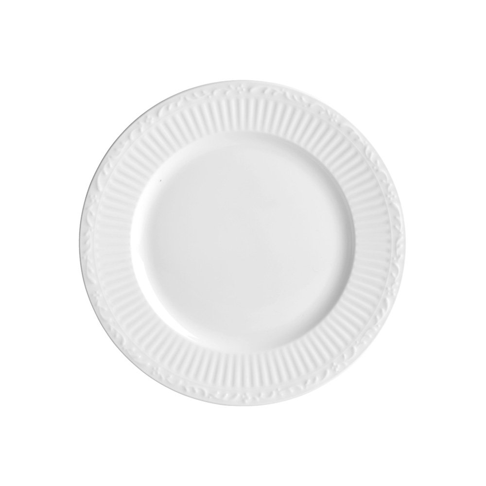 Mikasa Italian Countryside Bone China Salad Plate, 9-Inch, White