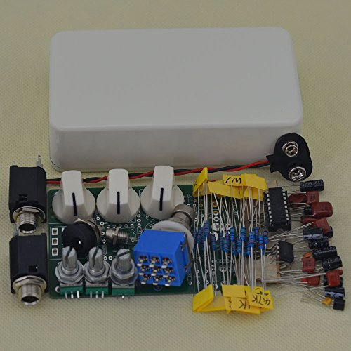 TTONE DIY Delay Guitar Effects Pedal Stompbox Pedals Delay -1 Kits Aluminum Enclosure Unfinished(NO HOLES) by TTONE