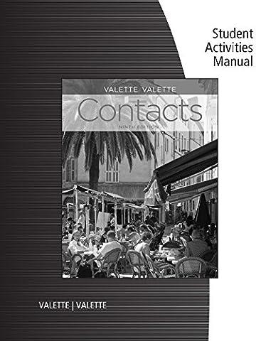 SAM for Valette/Valette's Contacts: Langue et culture françaises, 9th (Contacts French Book)